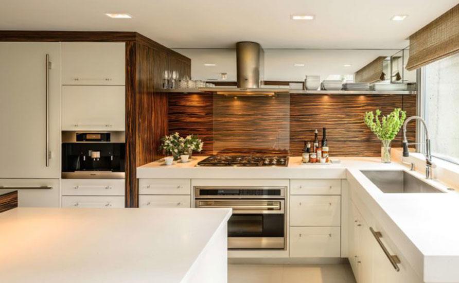 ترکیب سبک کلاسیک و مدرن در آشپزخانه