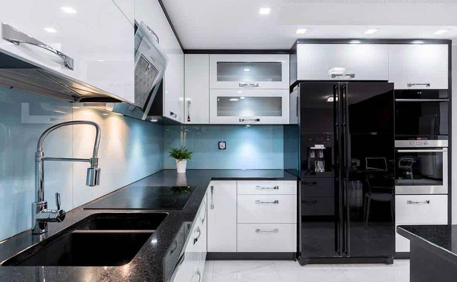 مشکی یکی از بهترین رنگ ها برای وسایل آشپزخانه شما