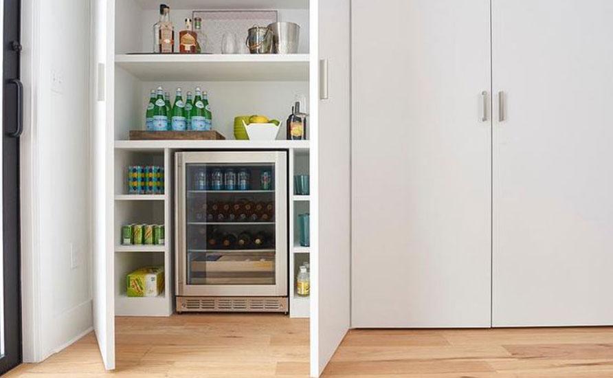 قفسههای مخفی در آشپزخانه
