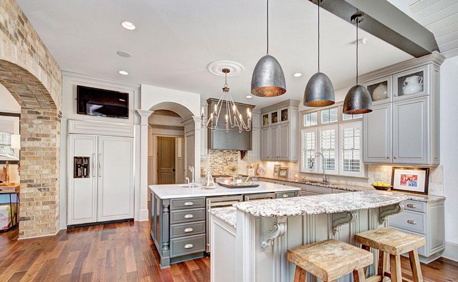 استفاده از المان های سبک سنتی در آشپزخانه